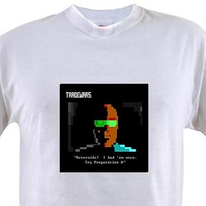 """TradeWars Grimy Trader """"Asteroids"""" value t-shirt"""