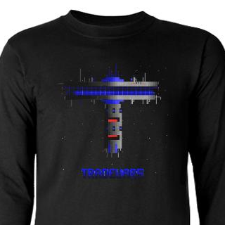 TradeWars StarDock with Logo t-shirt