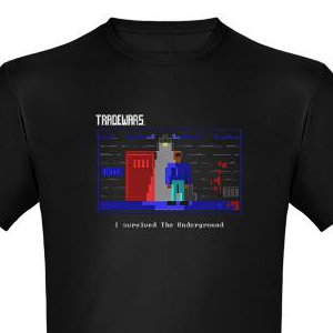 TradeWars Underground t-shirt